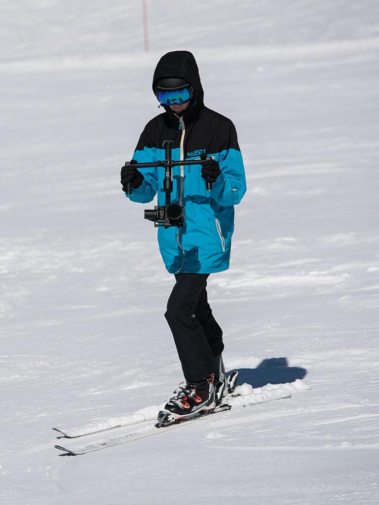 filmowanie narciarstwa