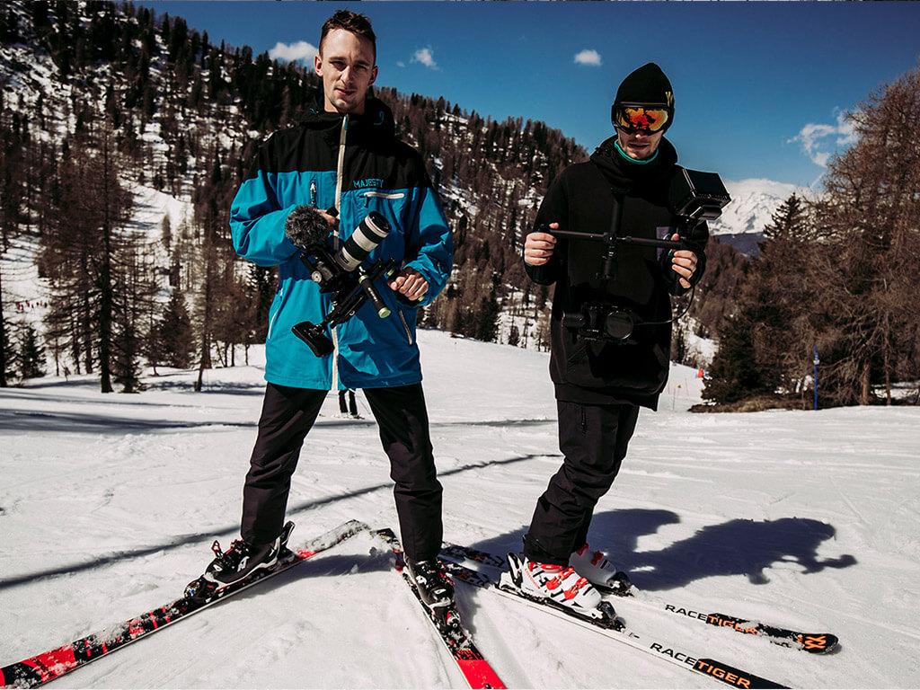 operatorzy filmowi Novomo w Val di Sole