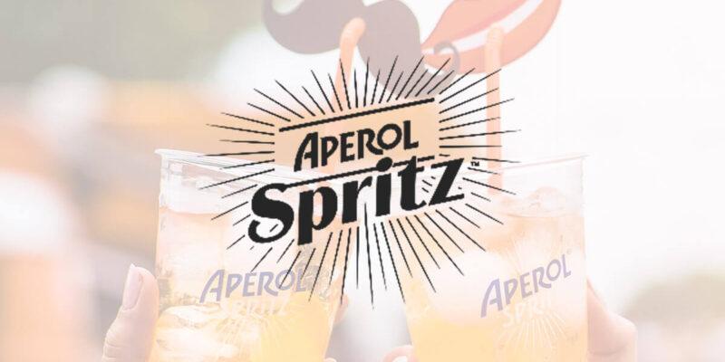 toast drinkami Aperol Spritz