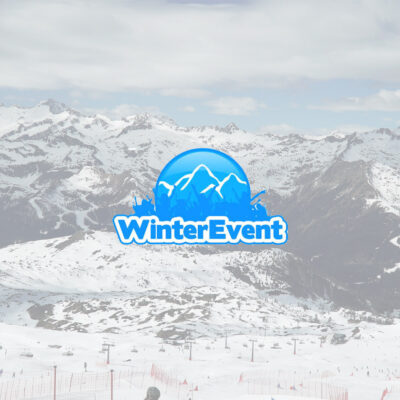 logo winter events na tle gorgeous